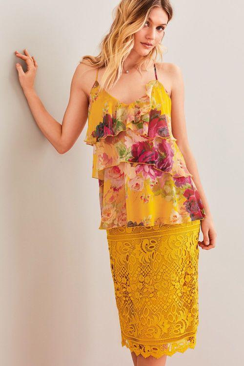 Next Lace Pencil Skirt
