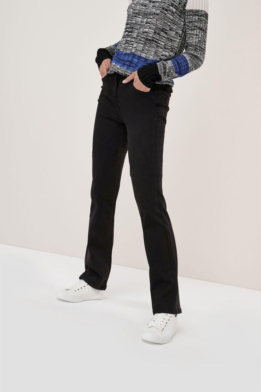 Next Soft Touch Boot Cut Jeans Online Shop Ezibuy Black Blue