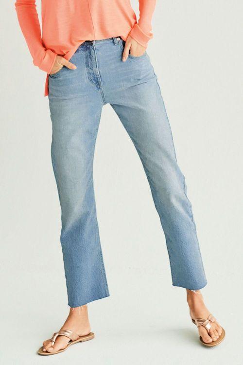 Next Bleach High Waist Straight Jeans