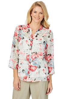 Noni B Amelia Printed Shirt