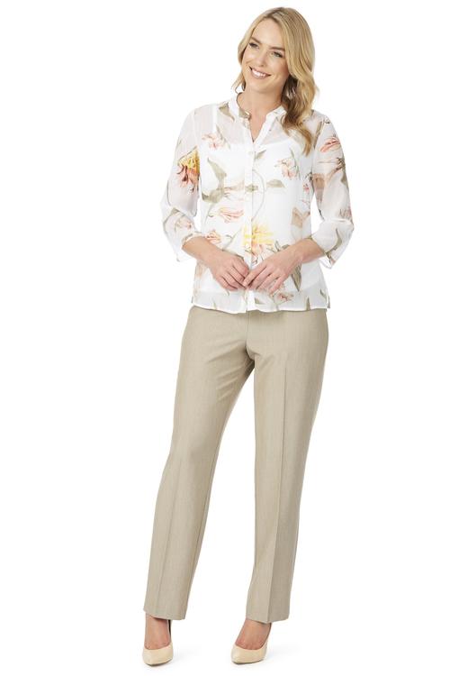 Noni B Anastasia Lurex Detail Shirt