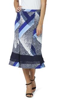 Noni B Suzana Printed Skirt