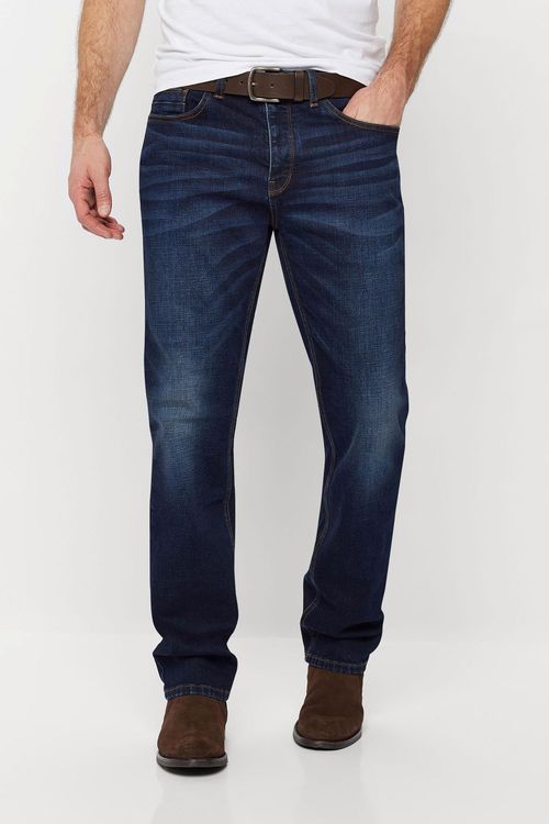 Next Straight Fit Belted Jeans