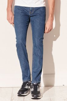 Next Light Blue Straight Fit Jeans