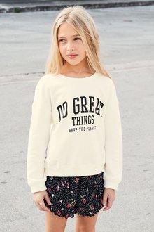 Next Slogan Sweater (3-16yrs)