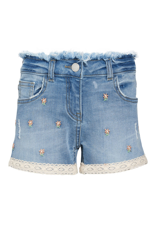 Next Embroidered Shorts (3-16yrs)