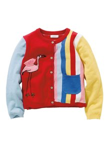 Next Flamingo Cardigan (3mths-6yrs)