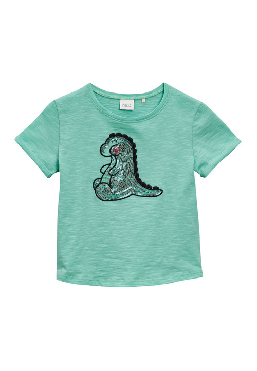Next Sequin Dino T-Shirt (3mths-6yrs)
