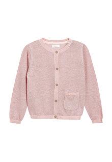 Next Pink Sparkle Cardigan (3mths-6yrs)