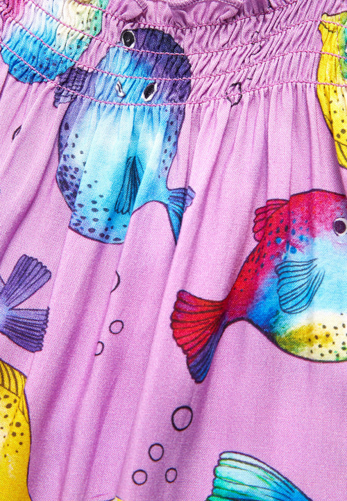 Next Puffer Fish Print Playsuit (3mths-6yrs)