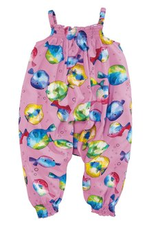 Next Puffer Fish Print Playsuit (3mths-6yrs)