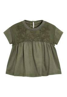 Next Chest Embroidered Blouse (3mths-6yrs)