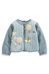 Next Applique Chambray Jacket (3mths-6yrs)