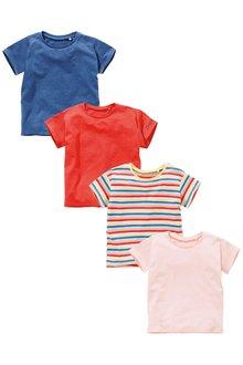 Next Stripe T-Shirts Four Pack (3mths-6yrs)