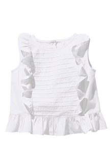 Next White Frill Blouse (3mths-6yrs)