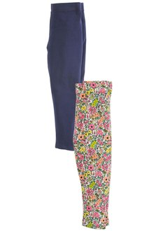 Next Floral Leggings Two Pack (3mths-6yrs)