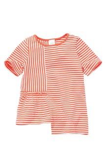 Next Stripe Asymmetric T-Shirt (3mths-6yrs)
