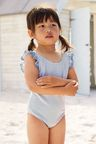 Next Stripe Broderie Swimsuit (3mths-6yrs)