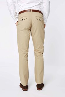 Next Smart Belted Chinos - Straight Fit