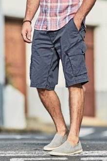 Next Garment Dyed Cargo Shorts