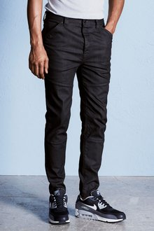 Next Dark Blue Tapered Fit Utility Jeans