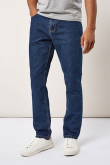Next Mid Blue Boot Fit Jeans