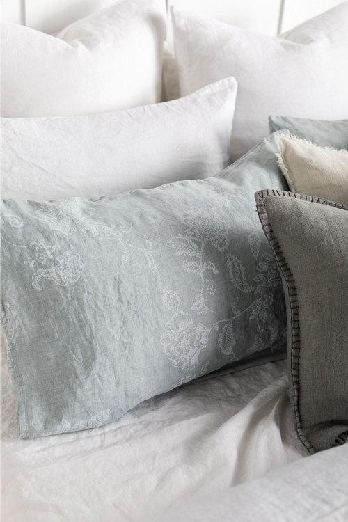 Fleuriste Linen Duvet Cover Set
