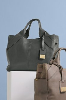 Next Leather Formal Tote Bag