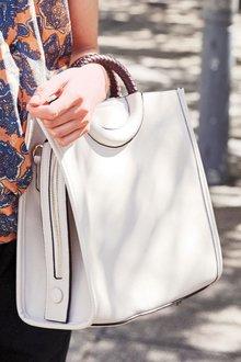 Next Ring Handle Tote Bag