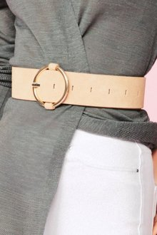 Next Suede Wide Belt