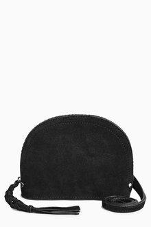 Next Suede Mini Across-Body Bag