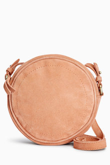 Next Suede Circle Across-The-Body Bag