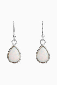 Next Opal Effect Drop Earrings
