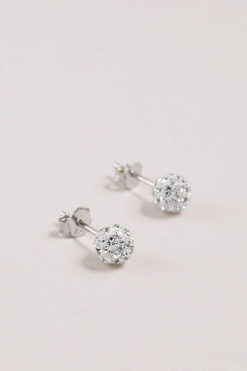 Next Diamante Ball Stud Earrings