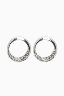 Next Open Circle Stud Earrings