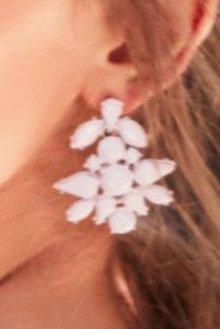 Next Opaque Jewelled Drop Earrings
