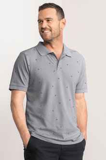 Southcape Slim Fit Printed Polo