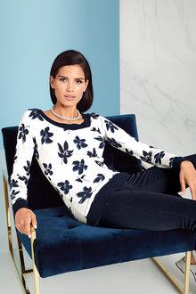 Heine Floral Sweater