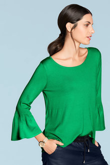 Heine Bell Sleeve Knit Top