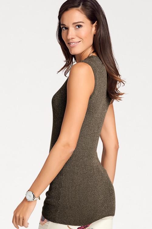 Heine Iridescent Knit Top