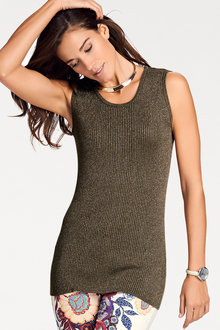 Heine Iridescent Knit Top