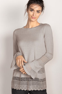Emerge Pointelle Knit