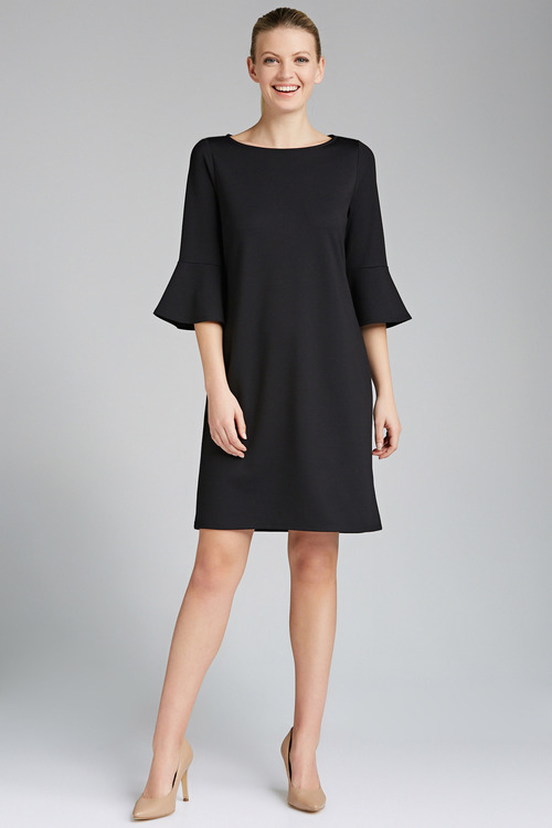Emerge Ruffle Cuff Dress