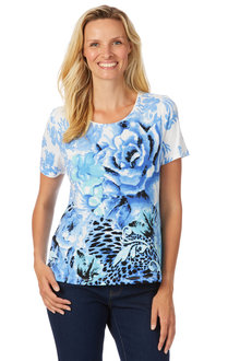 Noni B Belle Print Top