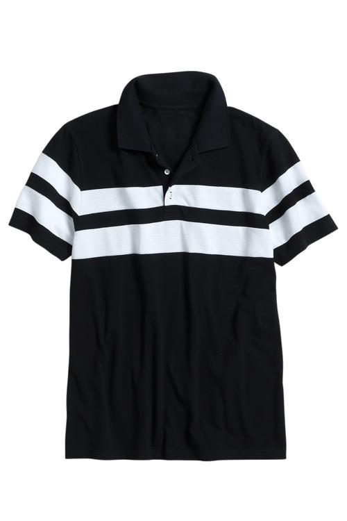 Southcape Block Stripe Pique Polo