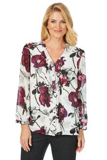 Noni B Maria Shirt Printed - 203729