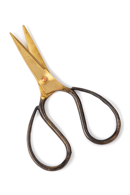 Burnished Herb Scissors