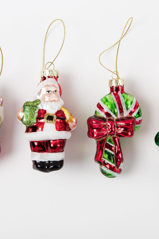 Glass Christmas Ornaments Set 6 Online | Shop EziBuy