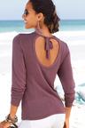 Urban Keyhole Back Sweater