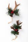 Faux Antler Ornaments Set 2